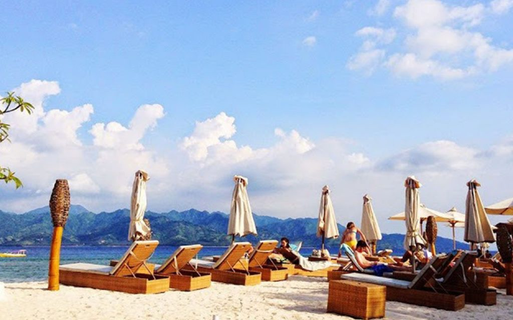 Beach Club at Gili Trawangan