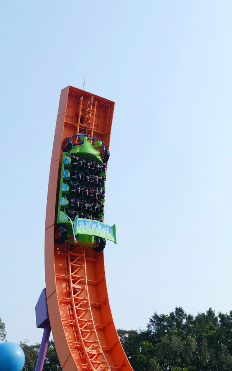 RC Car di Toy Story Land, Hong Kong