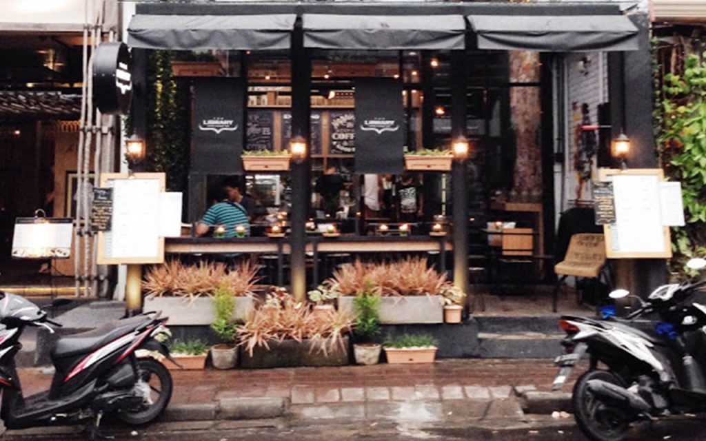 The Coffee Library Tampak Depan
