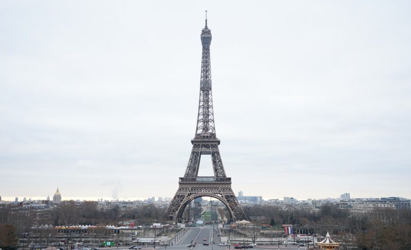 Authentic Happiness - Eiffel Tower